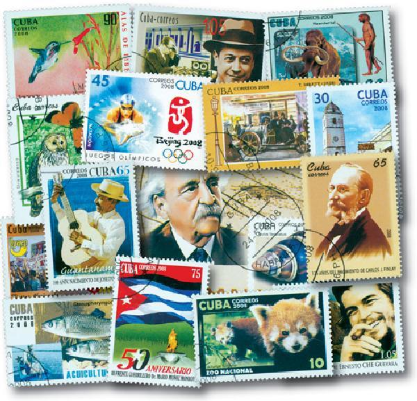 2008 Cuba Year Set 145v Used