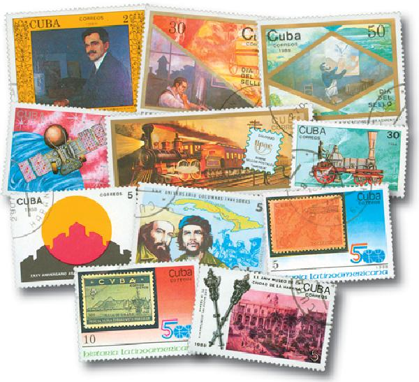 1988 Cuba Year Set 86v