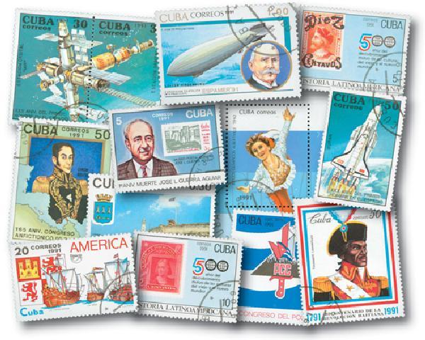 1991 Cuba Year Set 72v