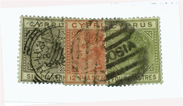 1882-94 Cyprus