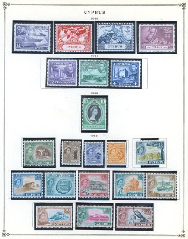 1942-90 Cyprus