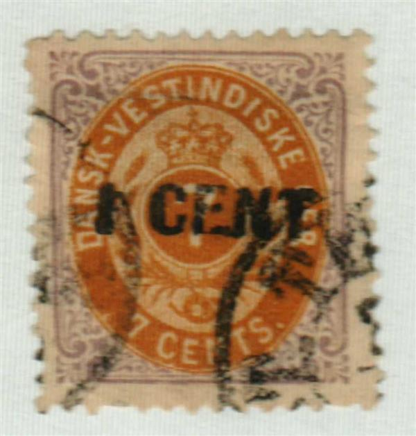 1887 Danish West Indies