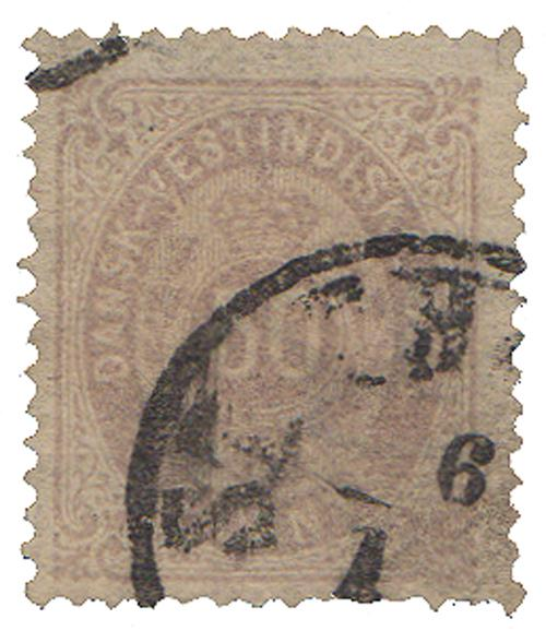 1874-79 50c Danish West Indies,violet