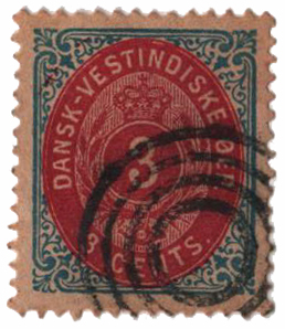 1874 3c deep blue & dark carmine, medium