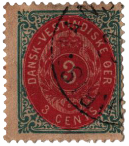 1874 3c 3c greenish blue & lake, thick