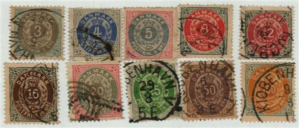 1875-79 Denmark