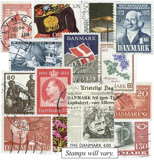 Denmark Pictorials, 100v