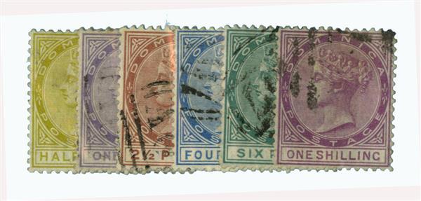 1877-79 Dominica