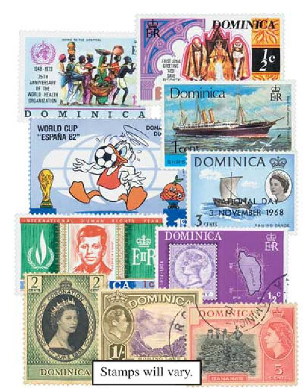 Dominica set of 50