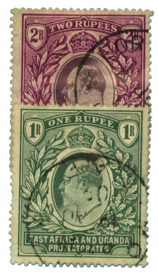 1904-07 East Africa and Uganda Prot.