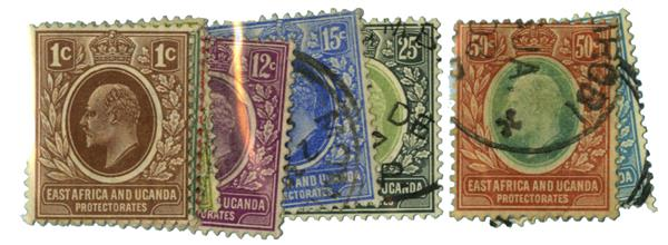 1907-08 East Africa and Uganda Prot.