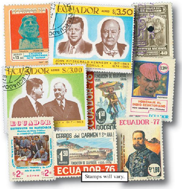 Ecuador, 50v