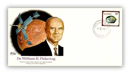 1980 Pioneer of Flight - William H. Pickering Commemorative Cover