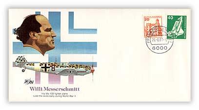 1980 Pioneer of Flight - William E. Messerschmitt Commememorative Cover