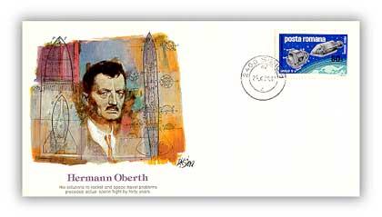 1980 Pioneer of Flight - Herman Oberth Commemorative Cover