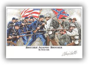 1995 Civil War Autographed Mini Print