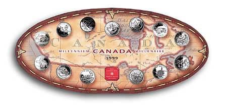 1999 Canadian Millennium Coin Set/12