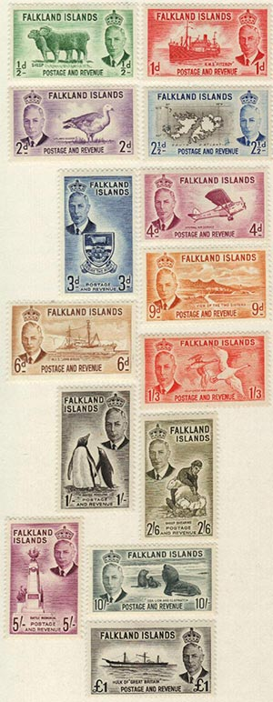 1952 Falkland Islands