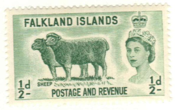 1957 Falkland Islands