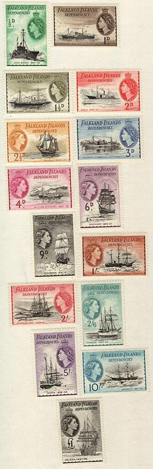 1954 Falkland Islands