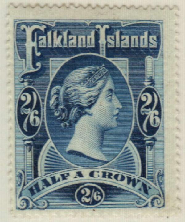1898 Falkland Islands