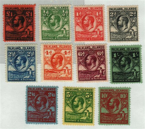 1929-31 Falkland Islands
