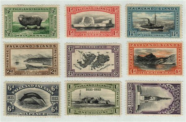 1933 Falkland Islands
