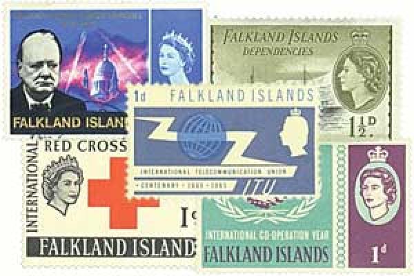 Falkland Islands & Dependencies, 25v