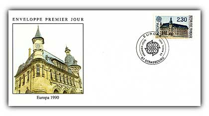 1990 France Europa 2.30 FDC