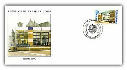 1990 Europa 3.20 FDC