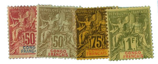 1892-1900 French Congo