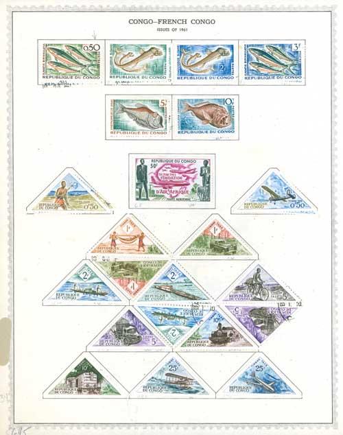 1959-73 Congo-French Congo