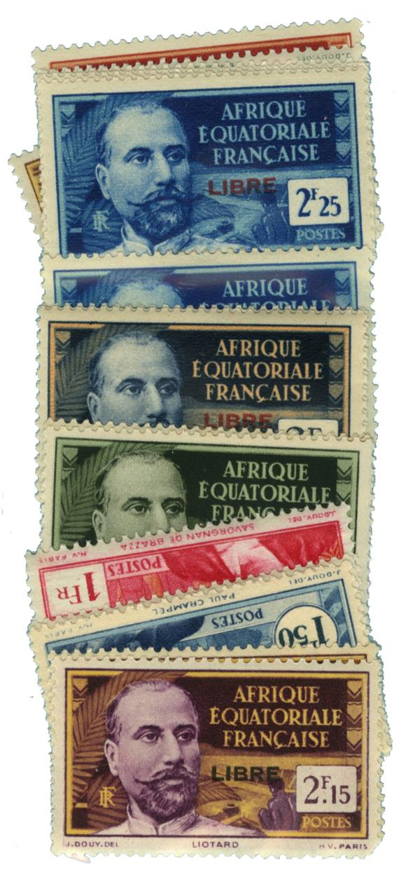 1940-41 French Equatorial Africa