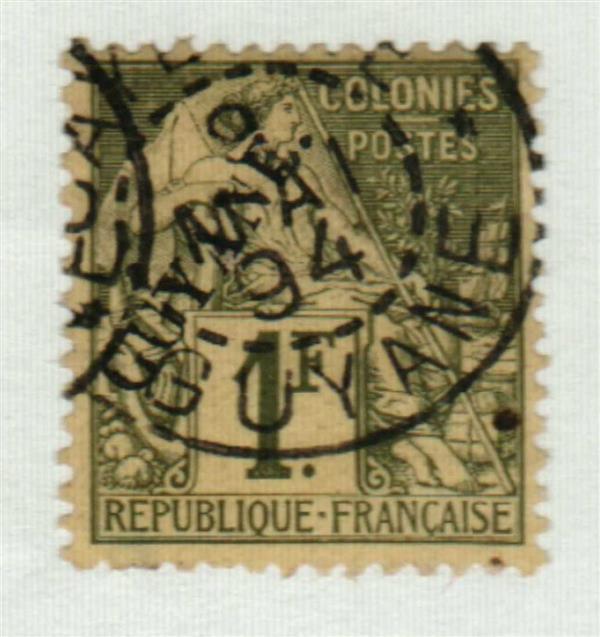 1892 French Guiana