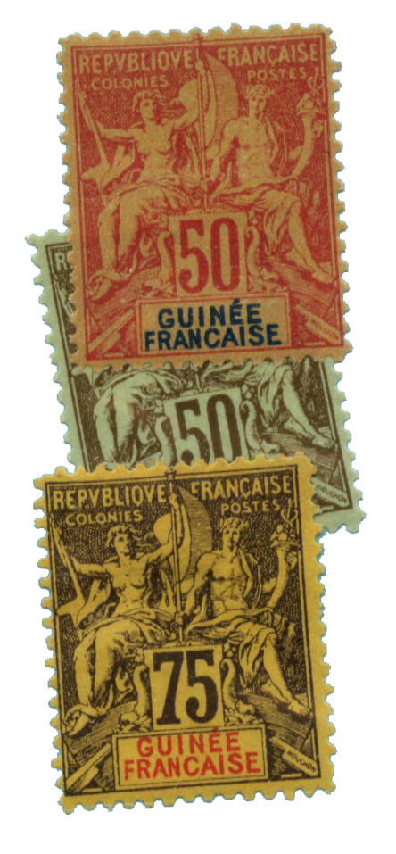 1892-1900 French Guinea