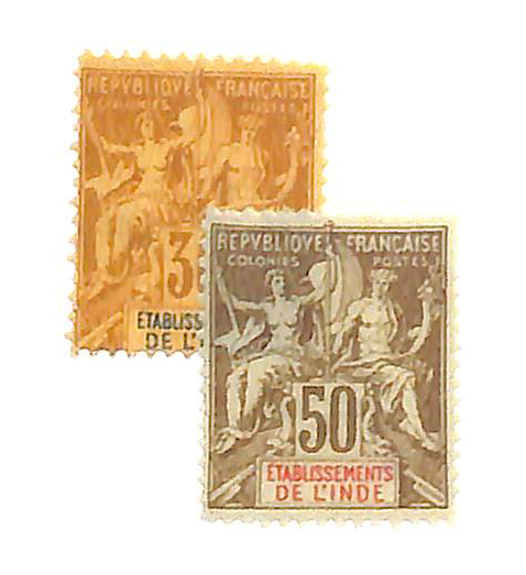 1892-1900 French India