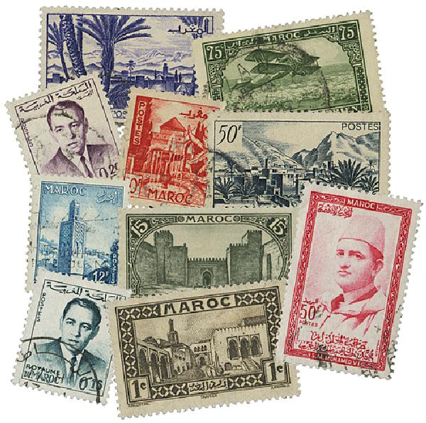 French Morocco, 500v
