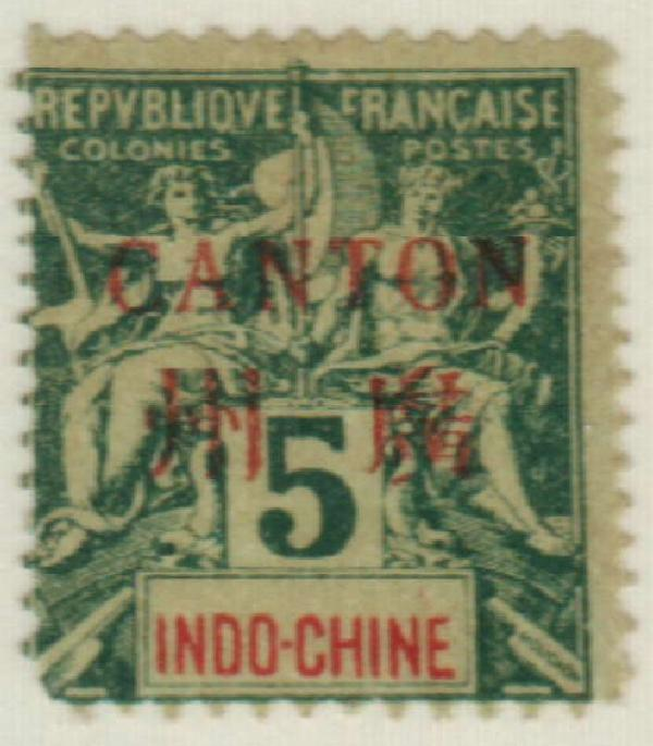 1901 French Offices-Canton