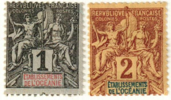 1892 French Polynesia