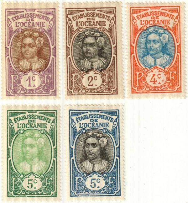 1913-22 French Polynesia