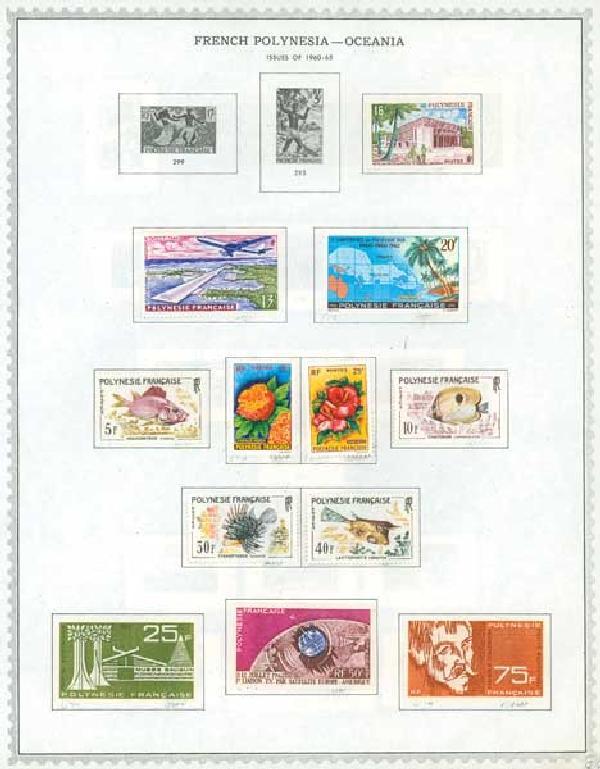 1892-1977 French Polynesia-Oceania