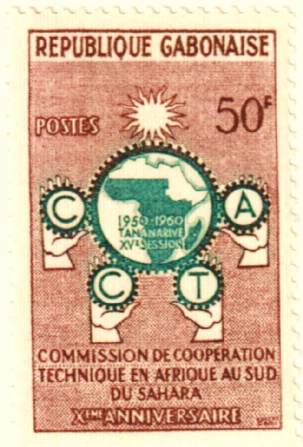 1960 Gabon