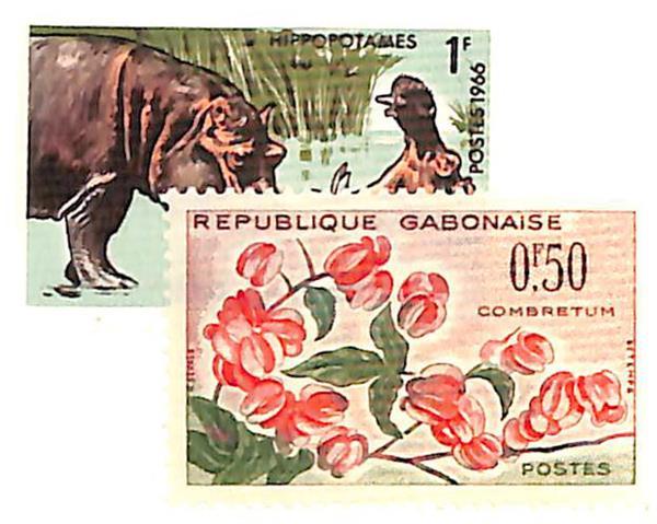 1961-67 Gabon