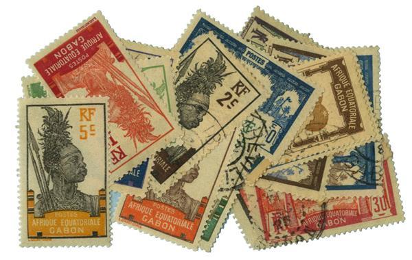 1910-22 Gabon