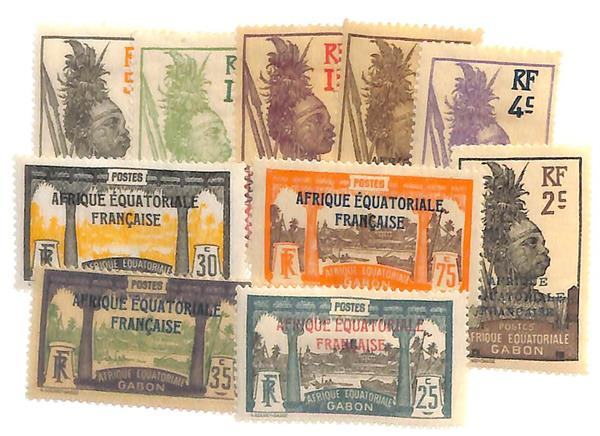 1924-31 Gabon