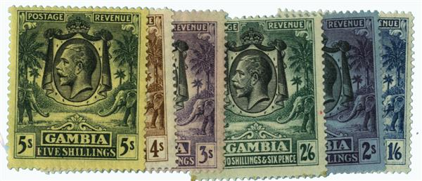 1922-27 Gambia
