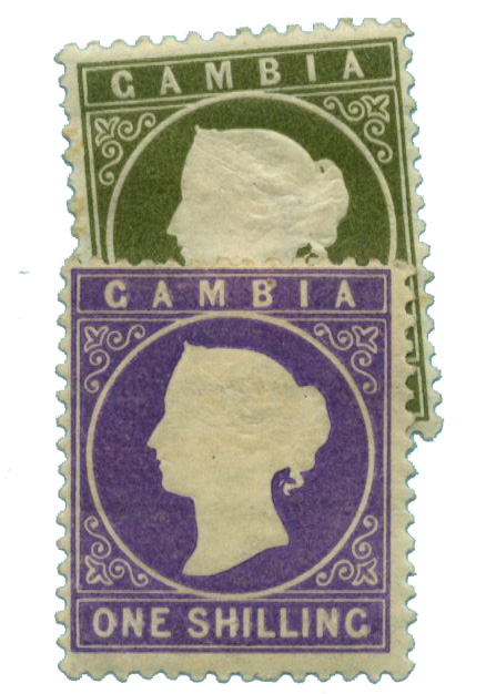 1886-93 Gambia