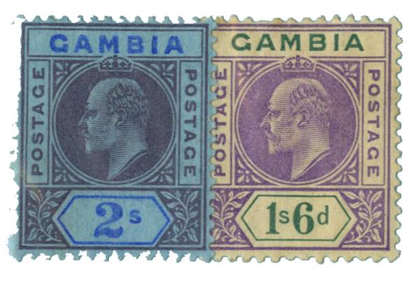 1909 Gambia