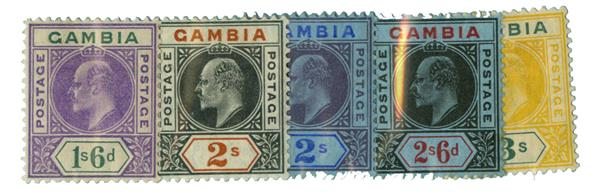 1904-09 Gambia