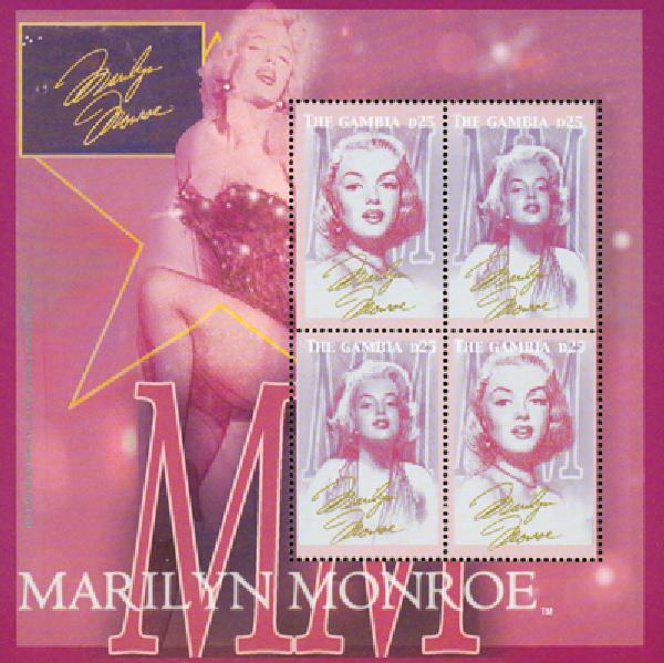 2004 Gambia Marilyn Monroe 4v